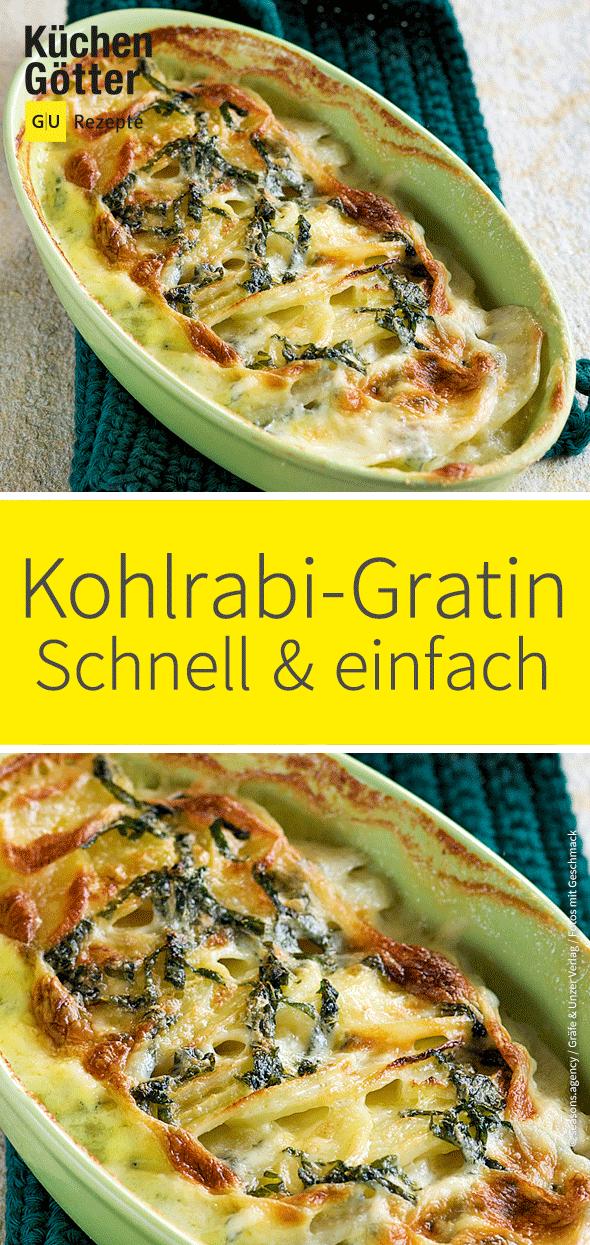 Kohlrabi-Kartoffel-Gratin, #einfachegerichteschnellekartoffeln #KohlrabiKartoffelGratin
