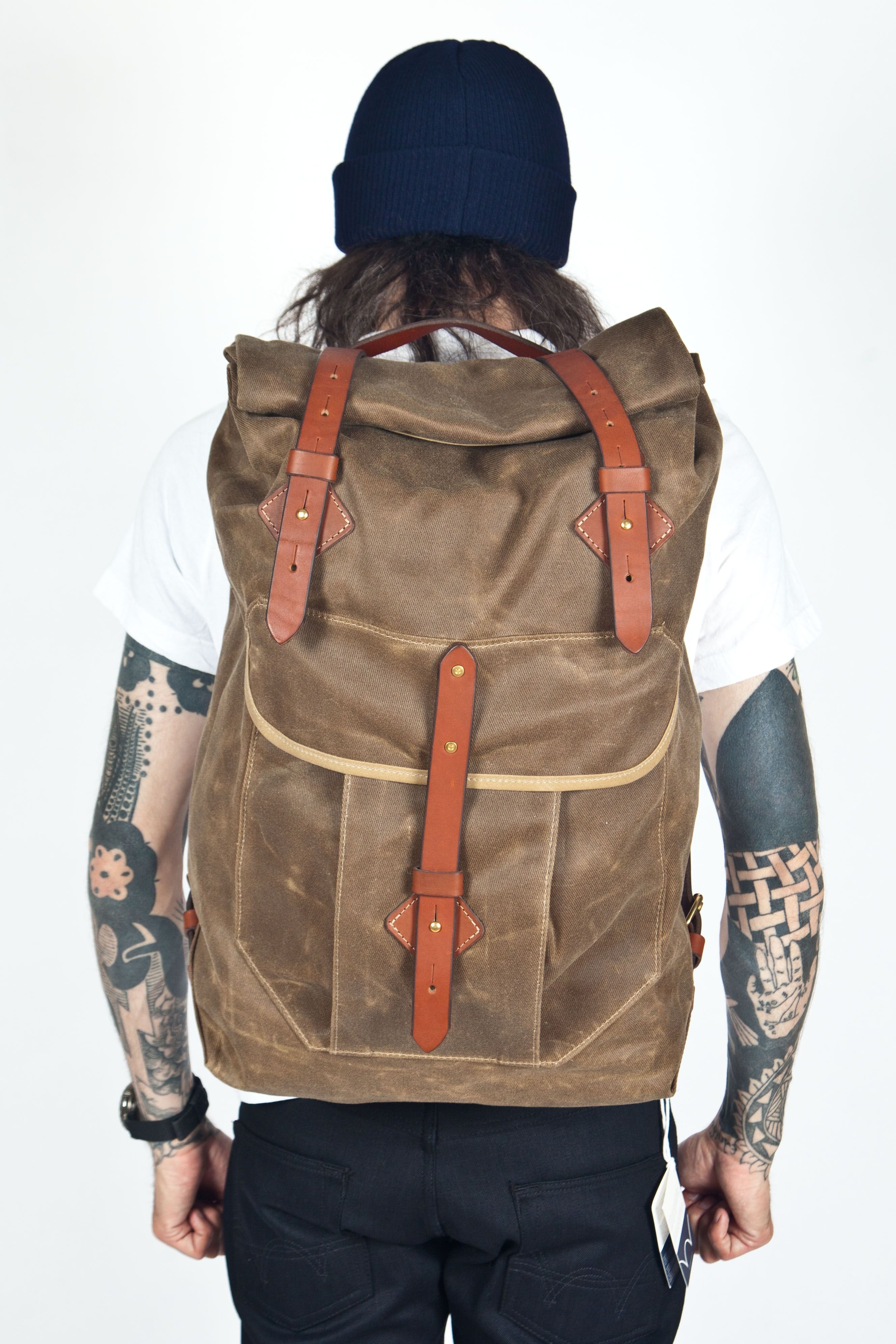 Tanner Goods - Wilderness Rucksack Tan