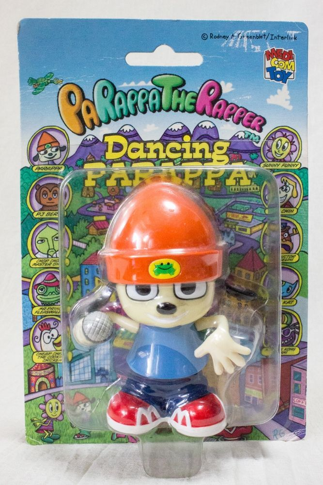 Japanese Toys And Games : Parappa the rapper wind up dancing figure medicon toy