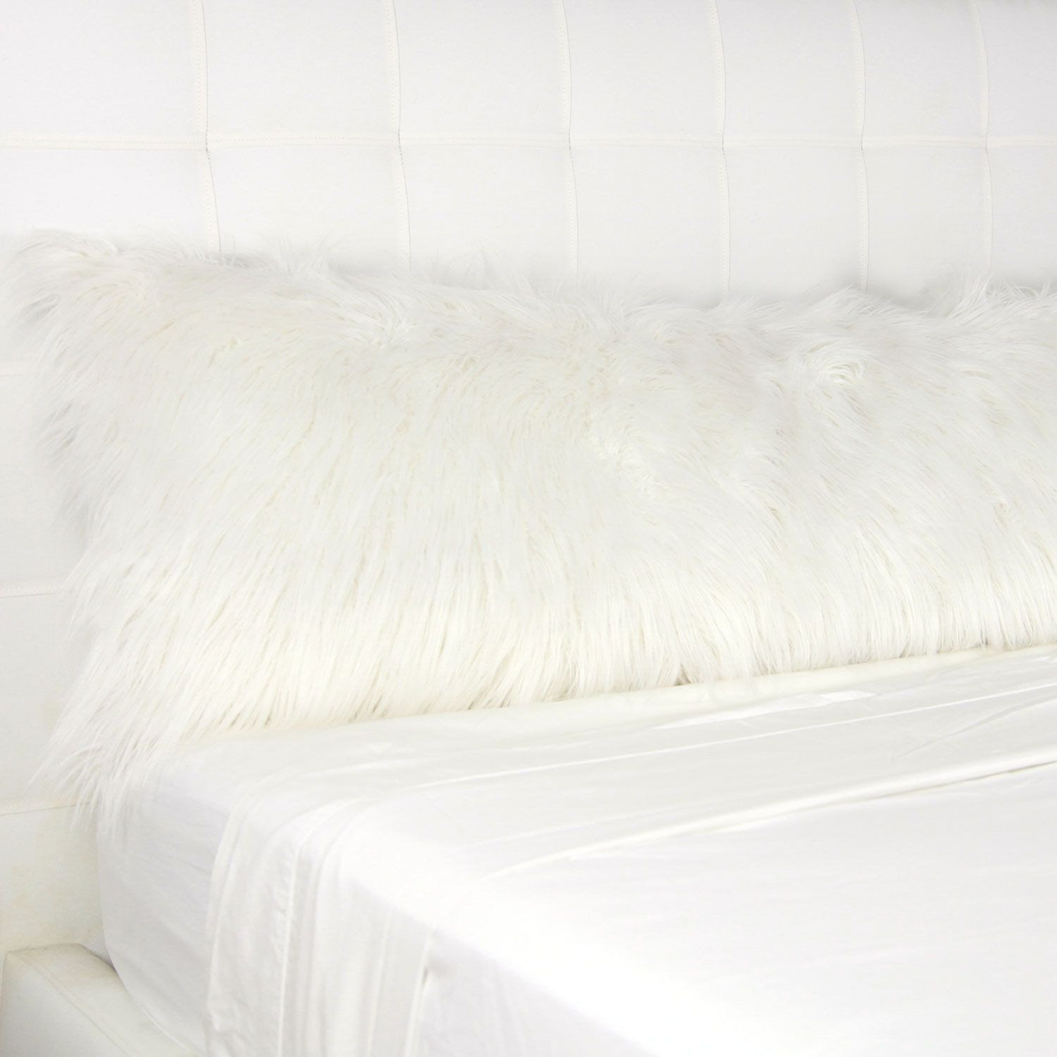 Faux Mongolian Body Pillow Cover | Body pillow covers, Pillows and ...