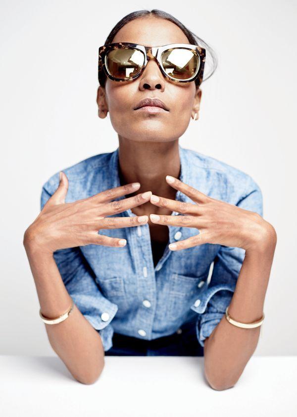 1c06fa36e0 Introducing J.Crew women s Betty sunglasses.