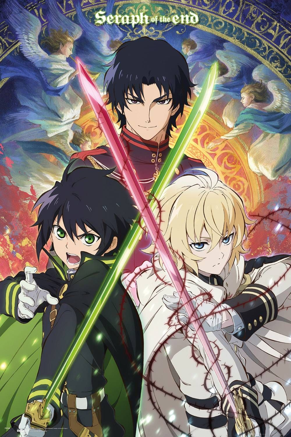 Seraph Of The End Trio Maxi Poster Seraph Of The End