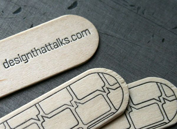 Stick Business Cards