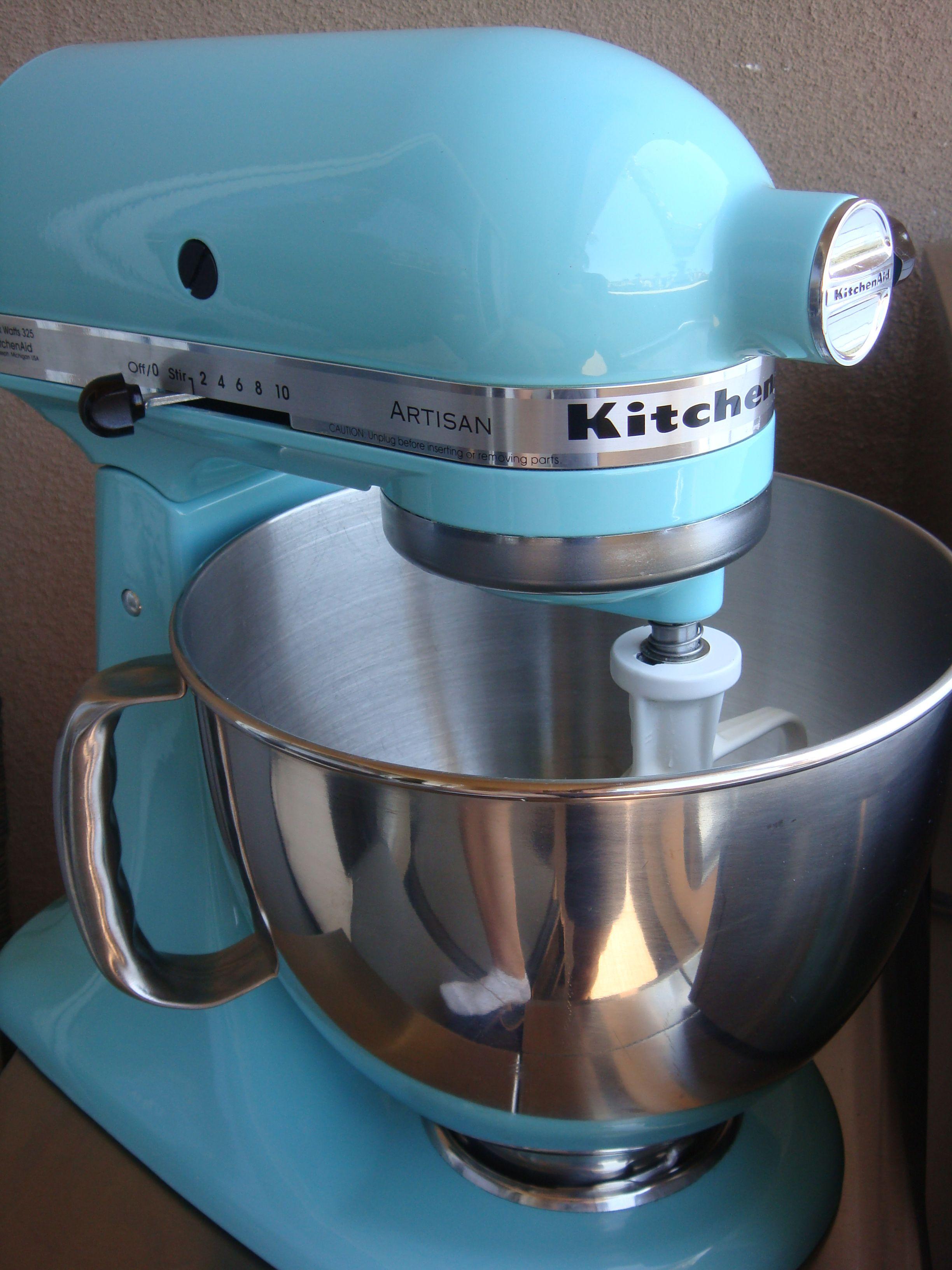 Kitchen aid artisan mixer from martha stewart collection