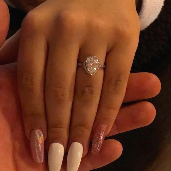 8d034ce9b Radiant Teardrop Ring, Clear CZ | PANDORA Jewelry US #PandoraJewelry ...