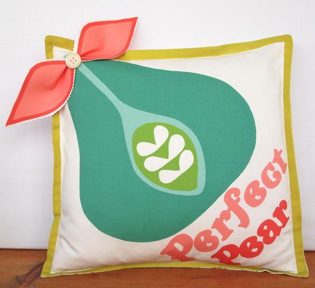 Perfect Pear 3D cushion. £40.00
