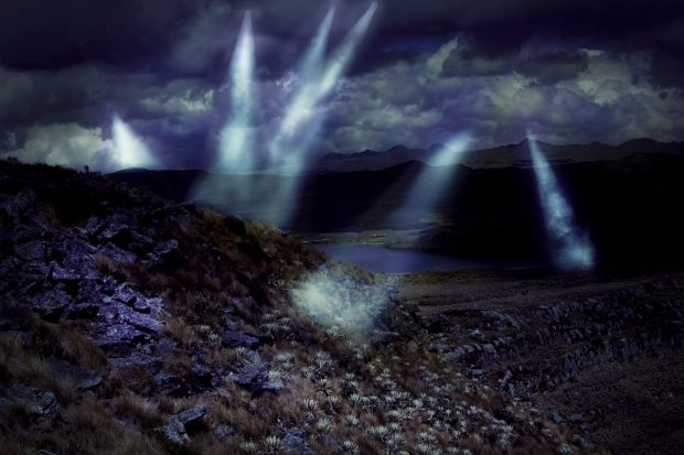 Abductions on  lake