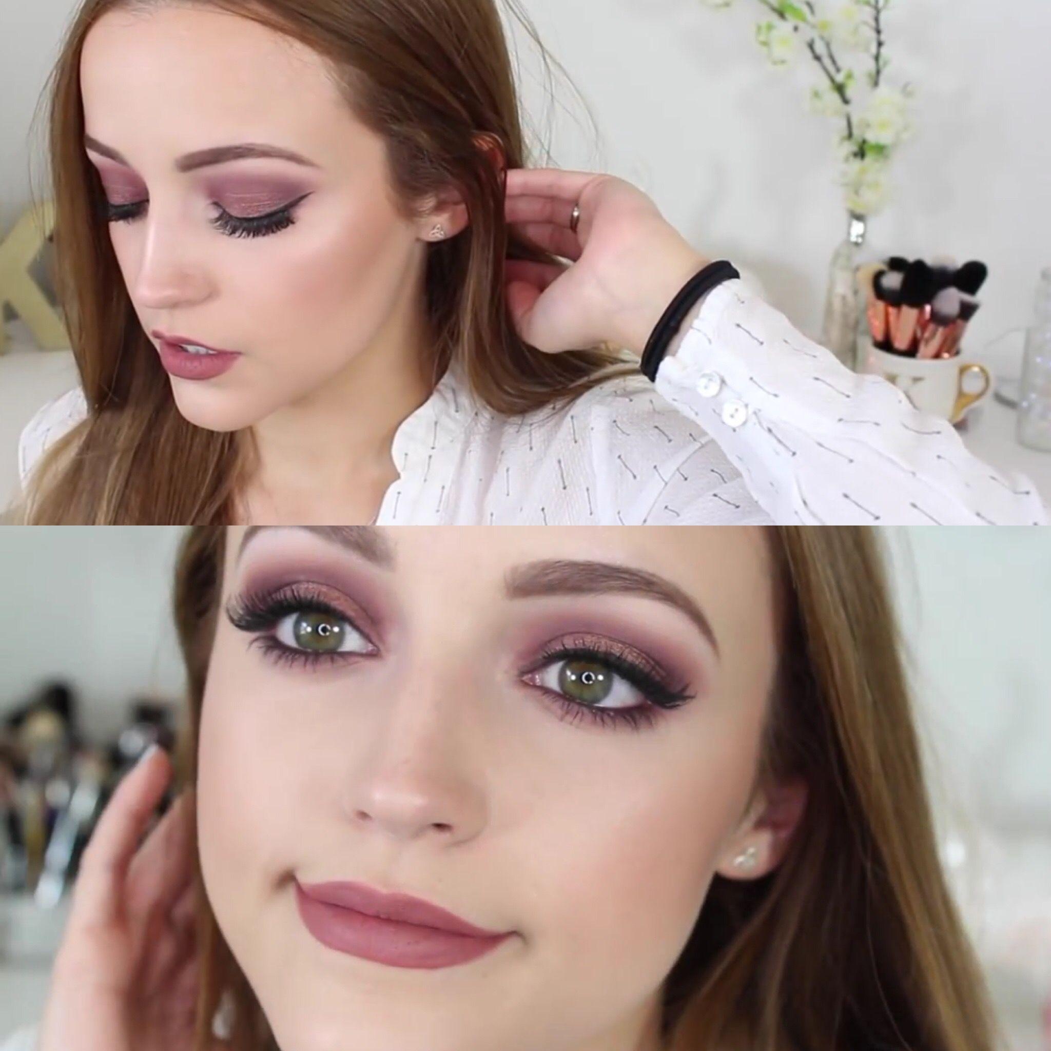 Morphe 35T Palette | Makeup Tutorial | Beautiful eye ...