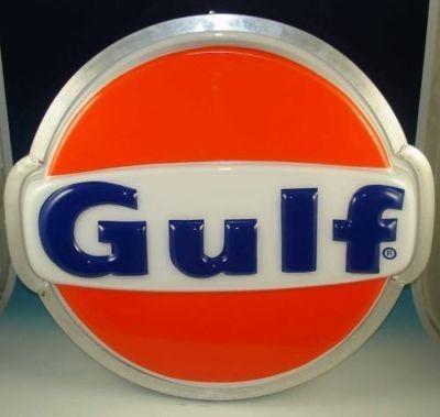 SHELL 2ft LOGO LED LIGHT BOX PETROL GASOLINE GARAGE OIL GAS STATION WALL SIGN