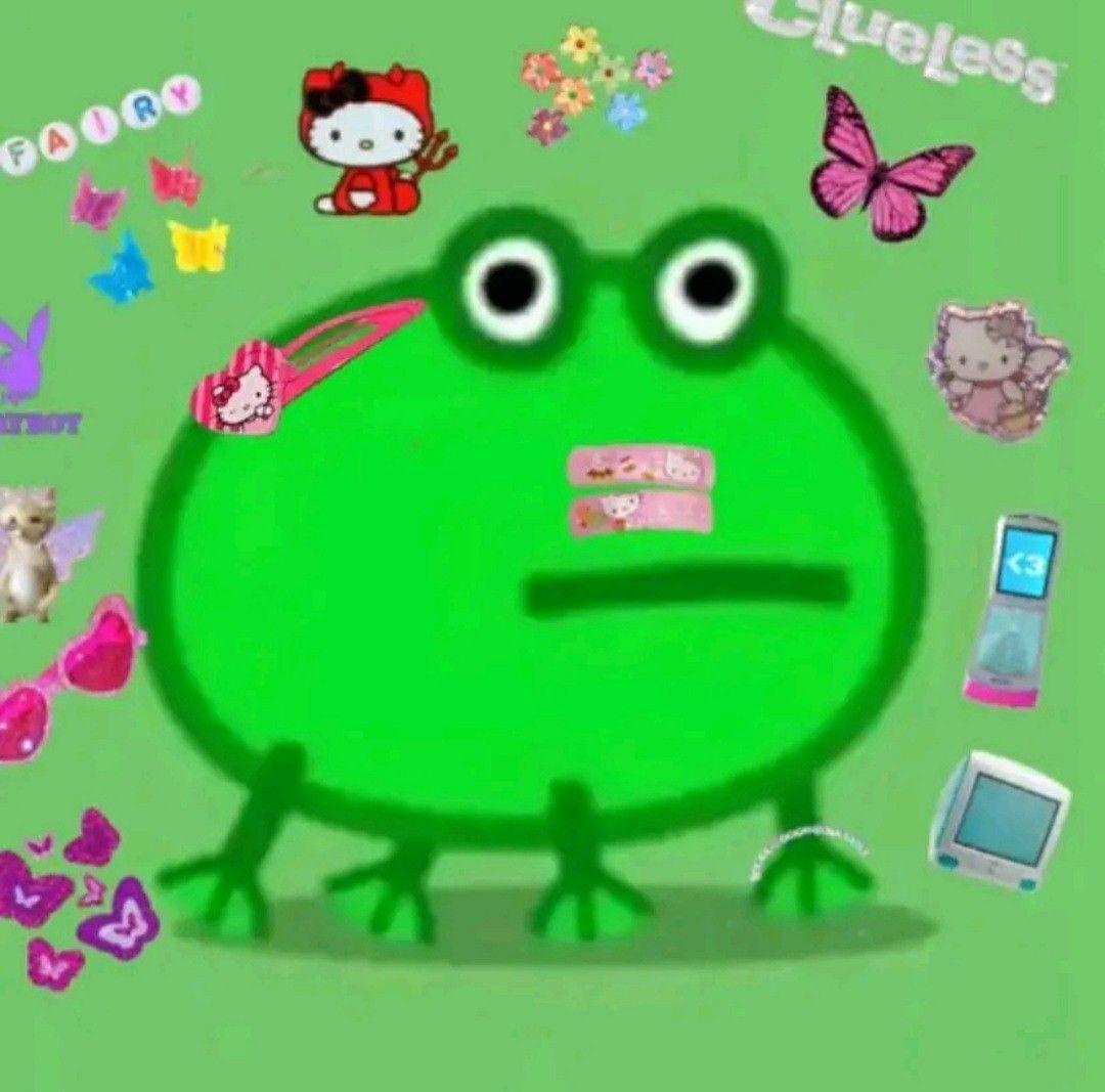 Pin By Ara Jaja Nwn On Ranitas Frog Drawing Frog Wallpaper Amazing Frog