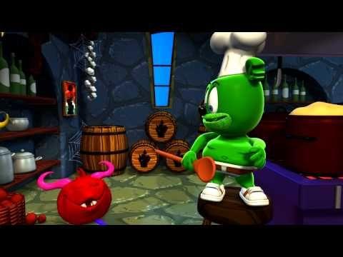 Gummibär - Monster Mash - Halloween - The Gummy Bear Song - YouTube