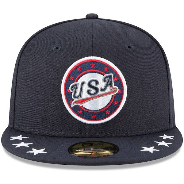 afa3af1fc9d Men s New Era Navy MLB 2018 All-Star Futures Game 59FIFTY Fitted Hat ...