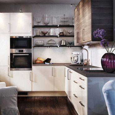 Ikea Abstrakt Creme Kleine Keuken Verbouwen Kleine Keuken