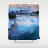 BLUE WAVE Shower Curtain#duvertcovers #bestgiftideas #bestgiftideasforloveone #bestgiftideasforvalentine #bestgiftideasforchristmas #bestgiftideasforhalloween #bestgiftideasformother