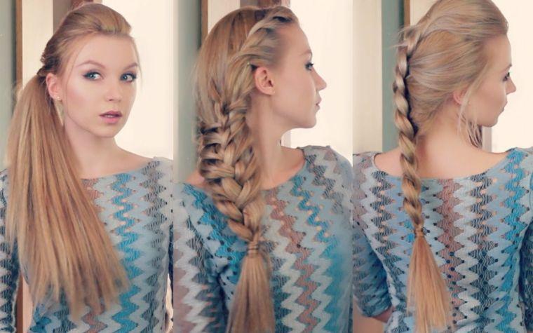 Peinados faciles y rapidos para la playa, la belleza y la naturalidad del cabello –  – Peinados