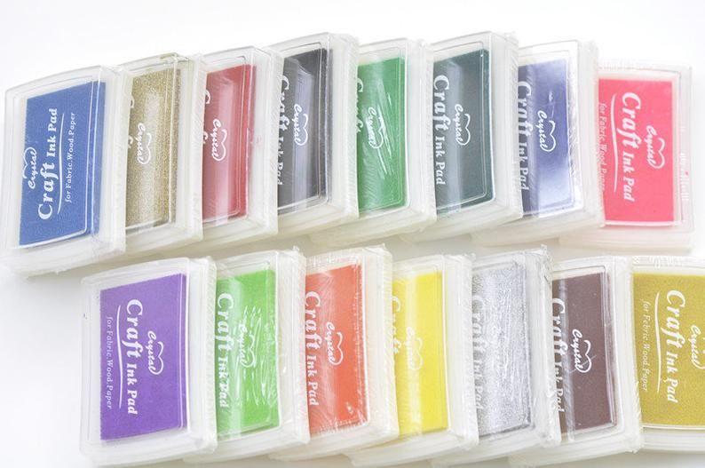 36pcs Rubber Stamp Blocks Set Alphabet And Number A Z And 0 9 Etsy Ink Pads Stamp Blocks Fingerprint Crafts