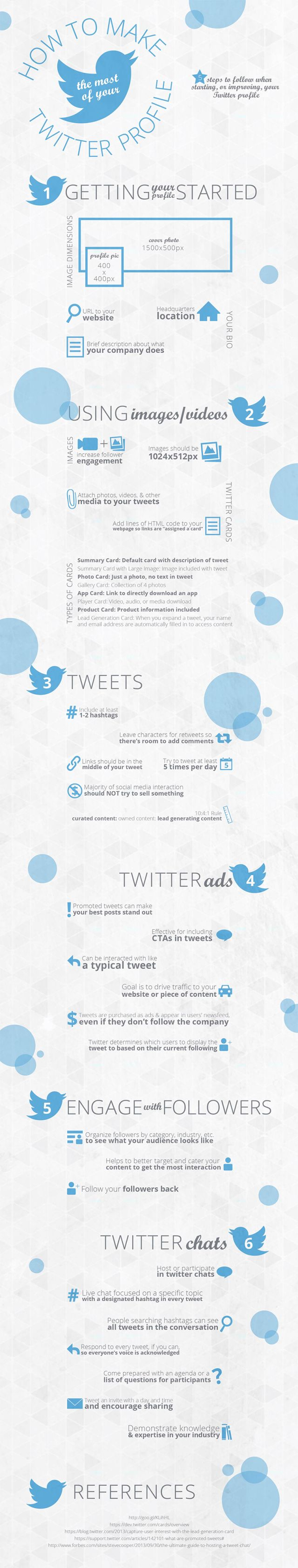 Twitter For Beginners How To Make The Most Of Your Business Profile  #Infographic Do You  How To Make Business Profile