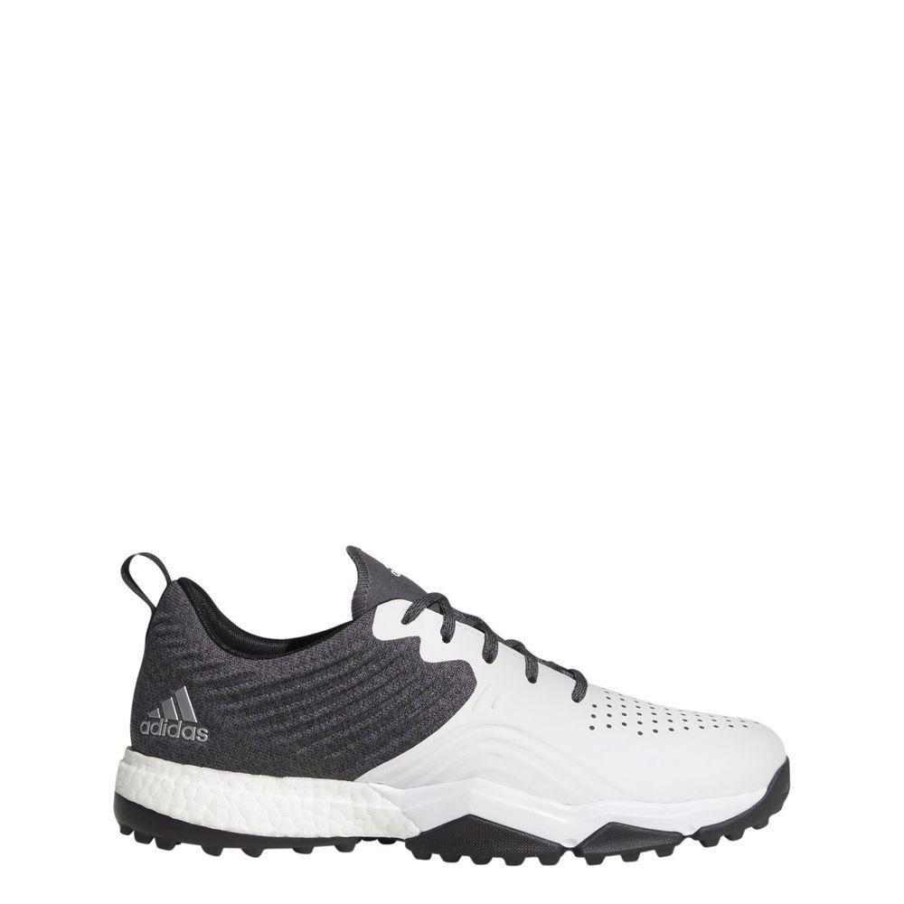 d940a511bca Adidas Adipower 4orged S Golf Shoes Size 11.5 Medium Black White Silver  (eBay