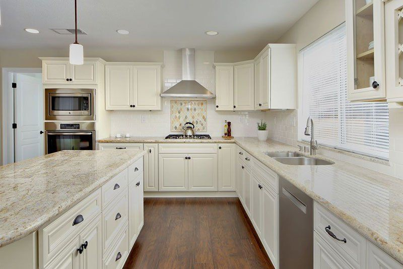 granite countertops with white kitchen cabinets river white granite countertops pictures cost pros 15986