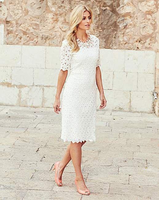 Joanna Hope Lace Dress Lace Dress Plus Size Wedding Guest Dresses Dresses
