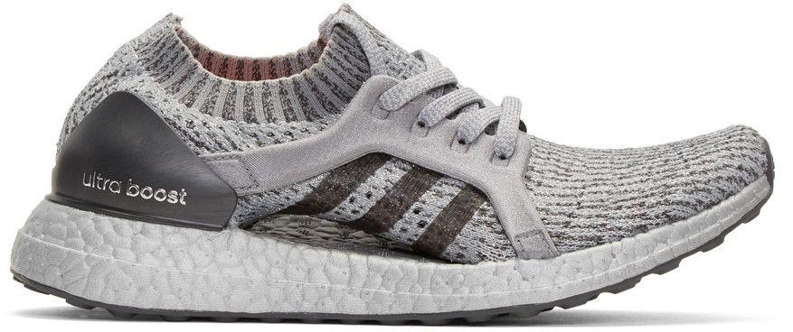 38e104b1f1a64 ADIDAS ORIGINALS Grey Ultraboost X Ltd Slip-On Sneakers.  adidasoriginals   shoes  sneakers