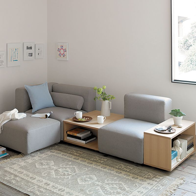 Sofa modular sofas muebles muji espa a tiny house for Modular living space
