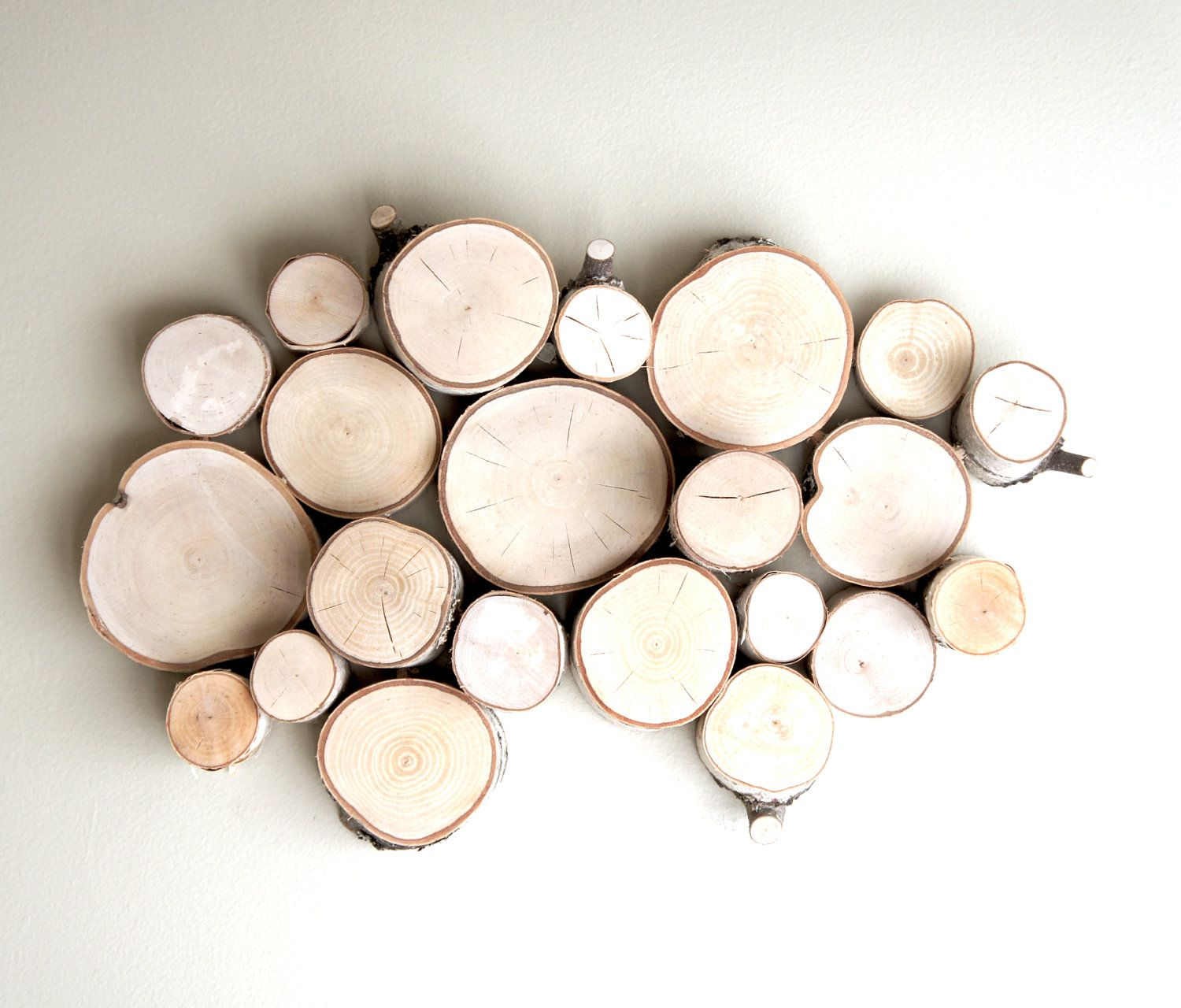Natural White Birch Forest Topography Wall Sculpture Wood Art Wood Slices Wood Wall Decor Modern Rustic Art Wall Hanging White Birch Trees Wood Wall Decor Wood Wall Art