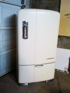 1947 Leonard Northern Electric Fridge, runs perfectly