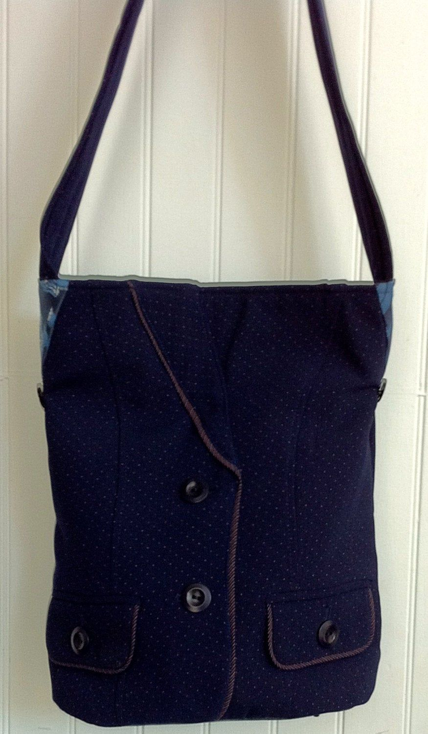 Front Ovals /& Swirls Classic Tote Purse w//Leather Trim Personalized