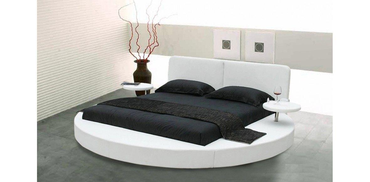 Modern White Platform Bed White Modern Platform Bed