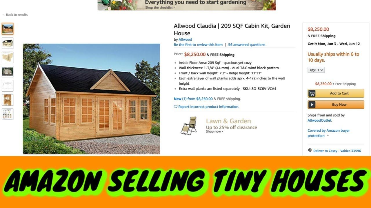 Amazon Selling Tiny House's ! (With images) Tiny house