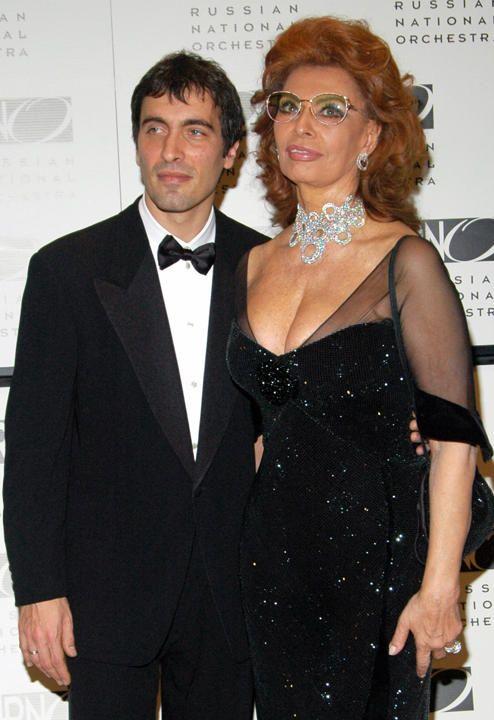 Sophia Loren and Carlo Ponti Jr