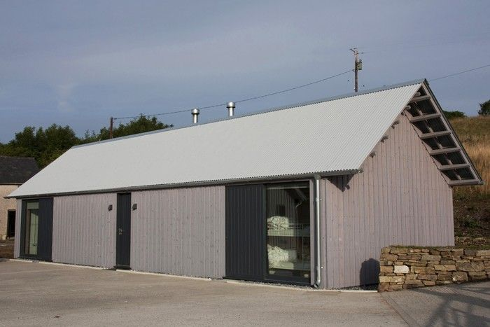 The Architect Is In A Budget Barn In Wales Remodelista Barn Style House Contemporary Barn Architect