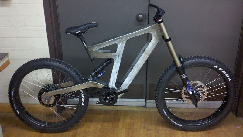 Image Result For Downhill Mountain Bike Frame Design Mountain