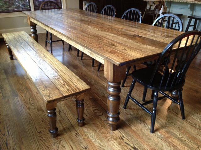 Ash Dining Table  For The Home  Pinterest  Dining Room Bench Glamorous Dining Room Bench Plans Design Inspiration