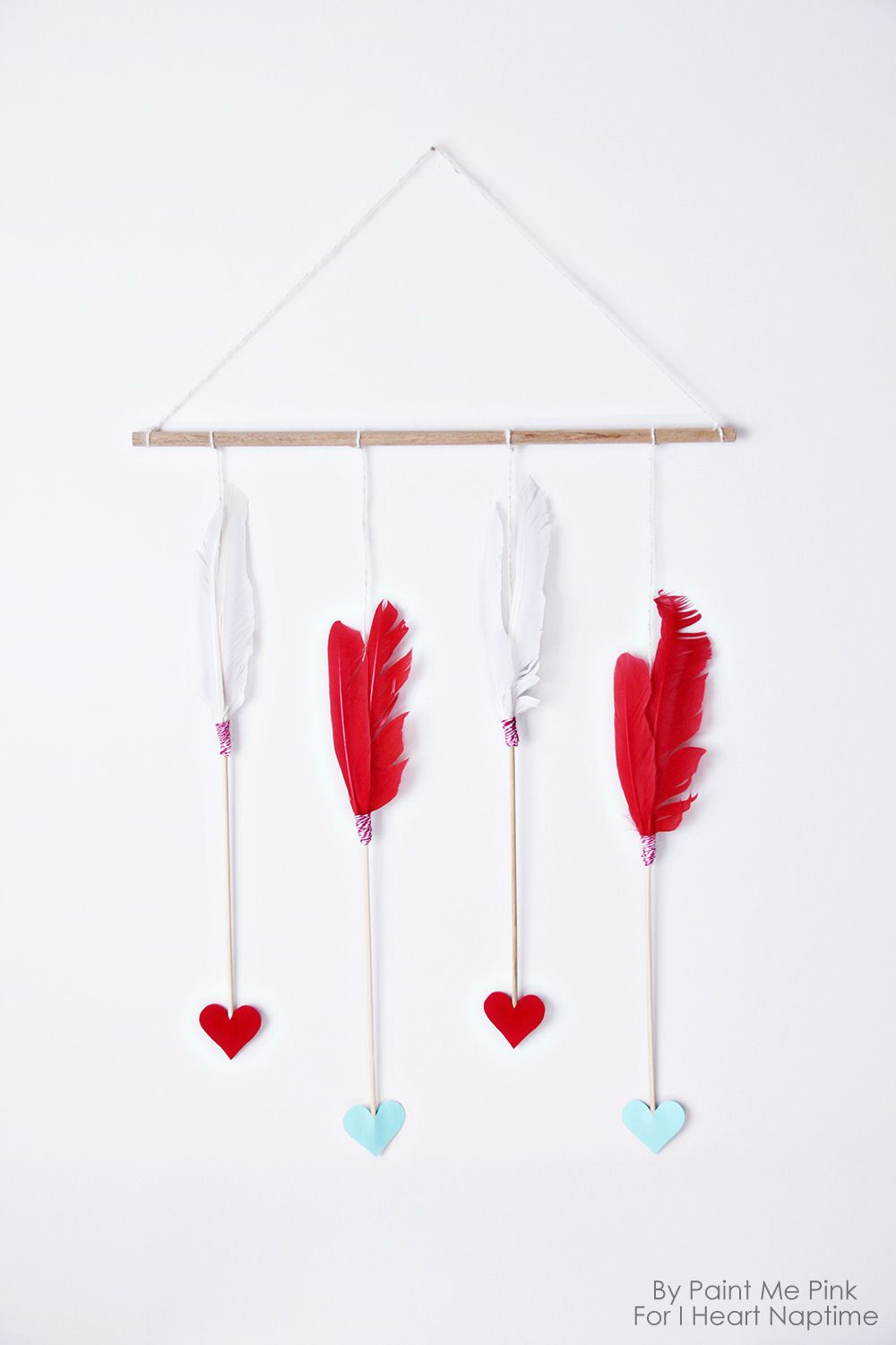 Valentine S Day Arrows Wall Hanging I Diy Valentines