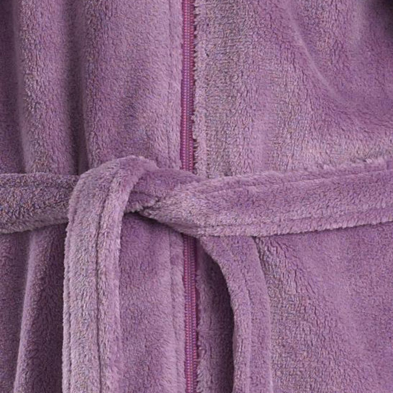 0db83736ee Ladies Slenderella Soft Fleece Zip Up Dressing Gown (Various Colours    Sizes)