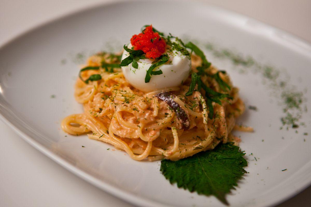 I Love Italian-Japanese Fusion, Especially Mentaiko Pasta -2745