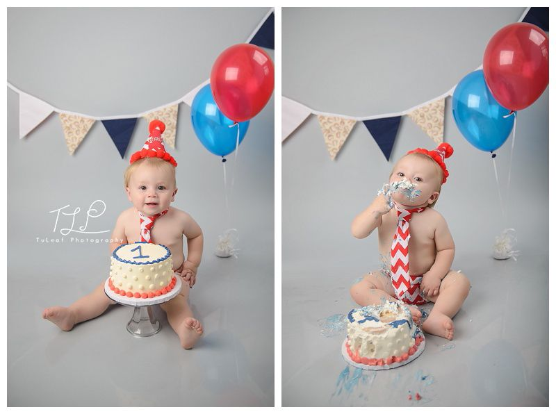 Chase One Year Cake Smash Session Albany Baby Delmar Child