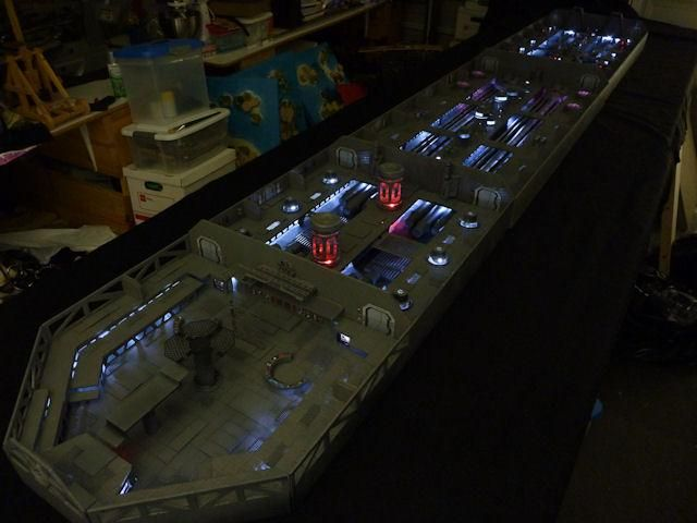 Star destroyer interior model | Terrain Showcase ...