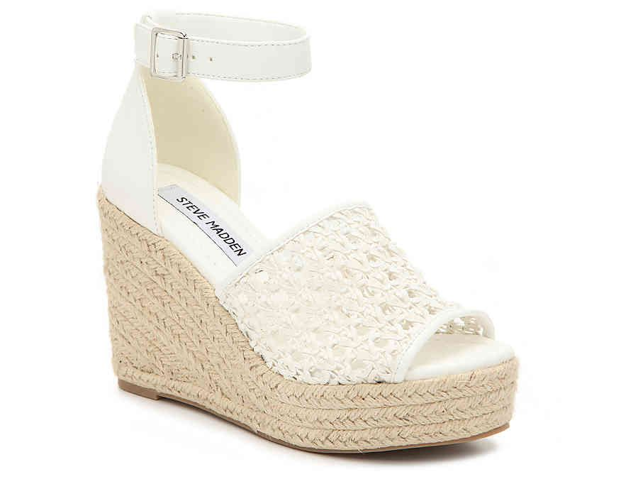 Espadrilles wedges, Gold wedge shoes
