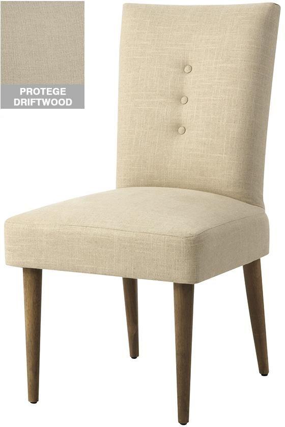 Custom Mid Century Modern Upholstered Dining Chair Decoracao