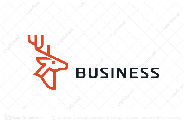 Deer Logo Geometrical Logo Industry Logo Geometric Company