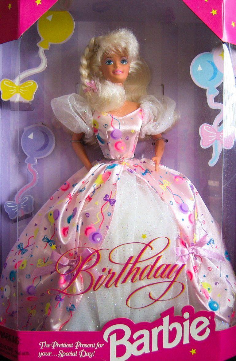 NEW 1996 Happy Birthday Barbie 15998 Happy birthday