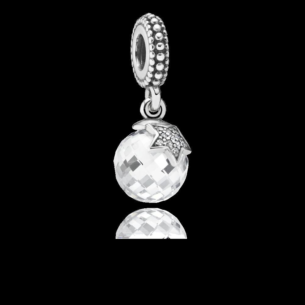 3a5b4a0d773 Charm Pendentif Lune et Etoile - Pandora FR