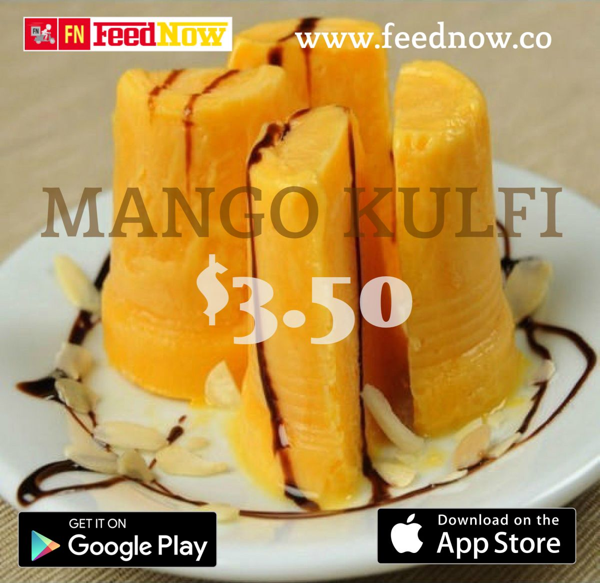 Experience the burst of flavor as the MangoKulfi