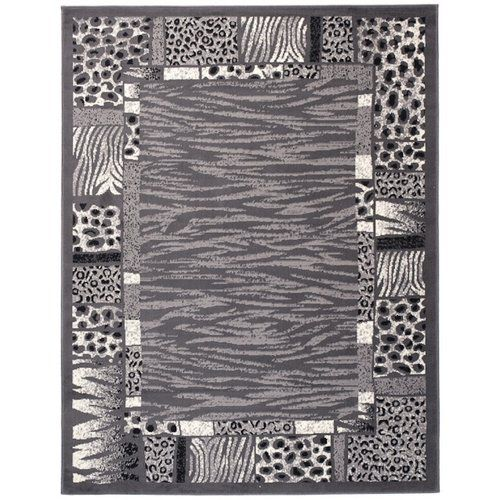 Teppich Taurean in Dunkelgrau 17 Stories Teppichgröße: Rechteck: 200 x 300 cm