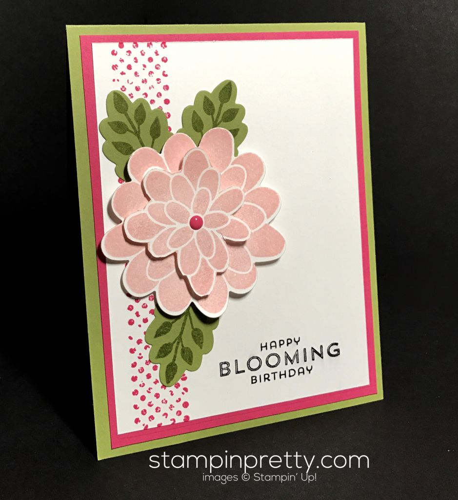 Inspired By Color Birthday Card Flower Patch Patches And Flower