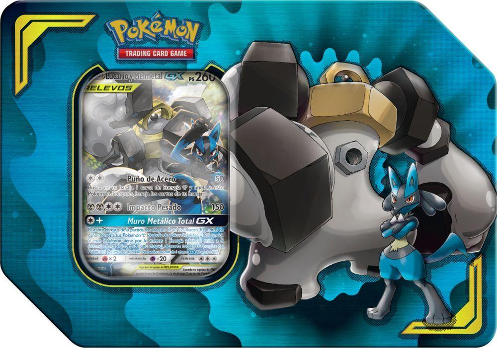 Pokemon Trading Card Game Power Partnership Tin Styles May Vary 82540 Best Buy Trading Cards Game Pokemon Cards Pokemon
