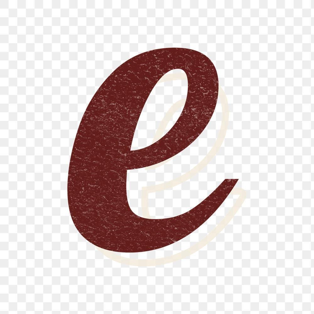 Alphabet Letter E Vintage Handwriting Cursive Font Png With Transparent Background Free Image B Cursive Fonts Handwritten Alphabet Design Fonts Cursive Fonts